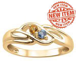 Round Twist Mothers Ring