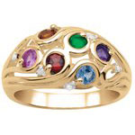 Fuse Swirl Mothers Ring