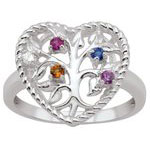 Tree of Love Mothers Ring