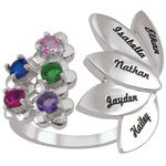 Flower Union Mothers Ring
