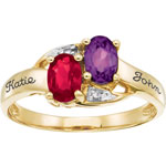 Inseparable Mothers Ring