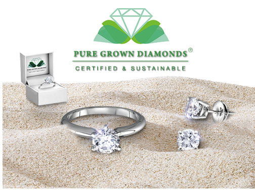 Pure Grown Diamonds, Certified and sustainable. This diamonds is eco-friendly and conflict-free. A new choice in Diamonds
